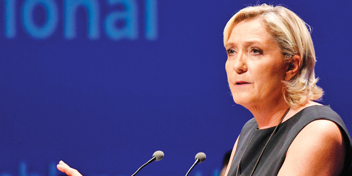 le pen Marine Le Pen, trimisa de justitie la psihiatru
