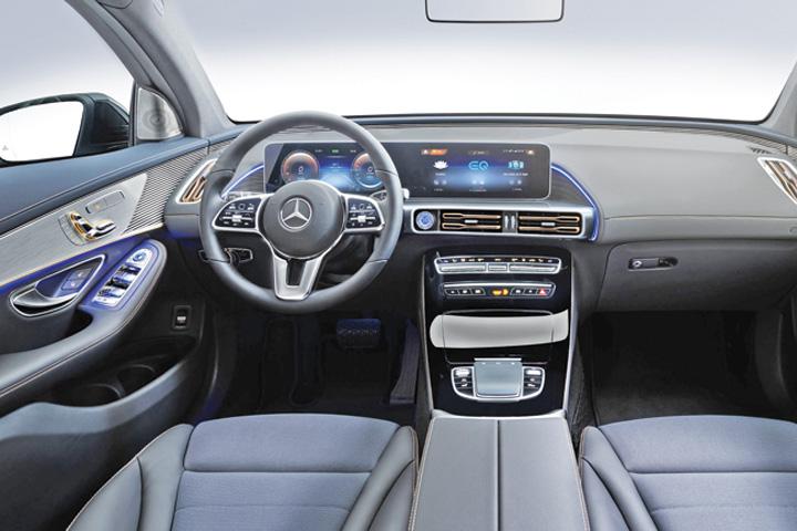 mercedes 1 Primul SUV electric Mercedes