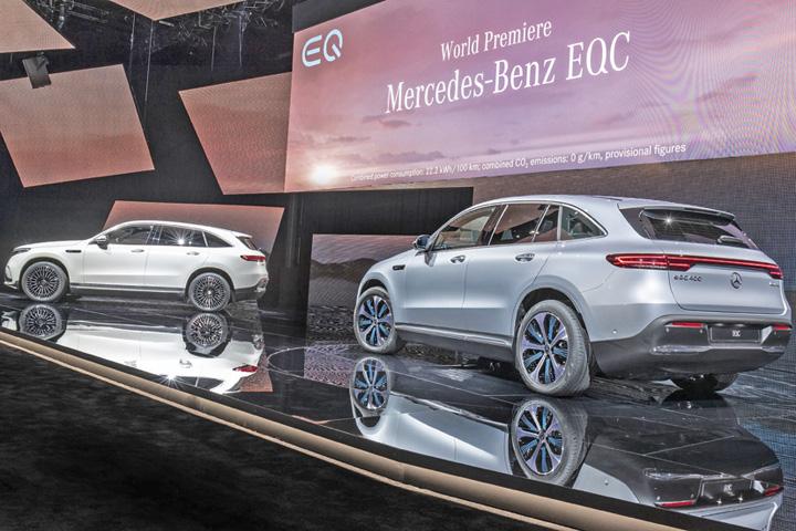 mercedes 2 Primul SUV electric Mercedes