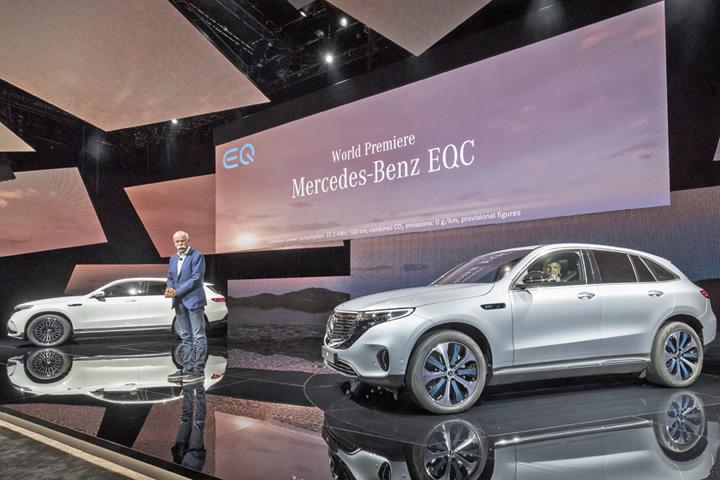mercedes Primul SUV electric Mercedes