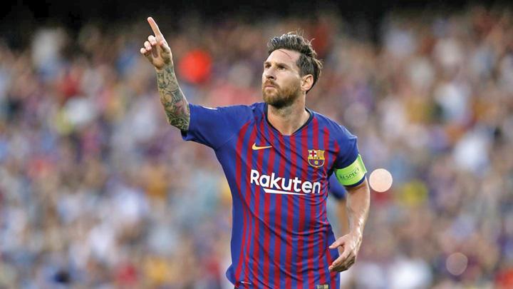 messi 1 Recital Messi pe Camp Nou
