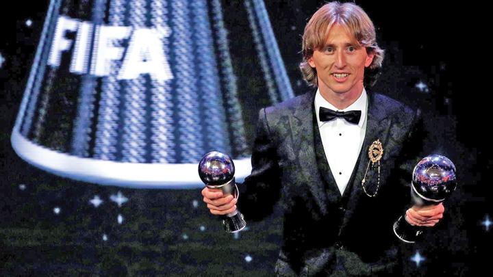 modric Modric, cel mai bun jucator al anului