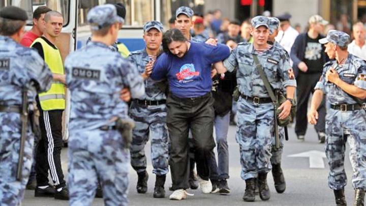 moscova #Rezist se muta in Rusia. Putin deschide puscariile