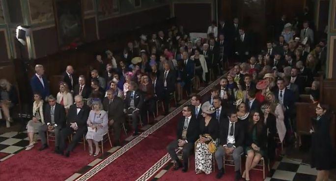 nunat 2 Imagini LIVE de la cununia religioasa a fostului principe Nicolae (VIDEO)