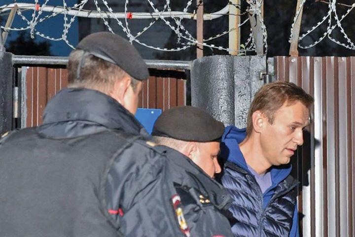 opozant 1 Opozantul lui Putin, eliberat si iar arestat