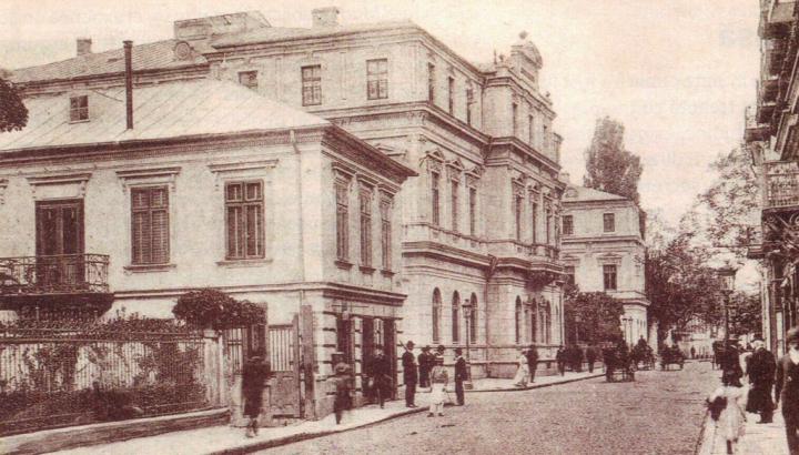 palatul in jurul anului 1900 720x410 Palatul Romanit, o istorie de peste două veacuri (I)