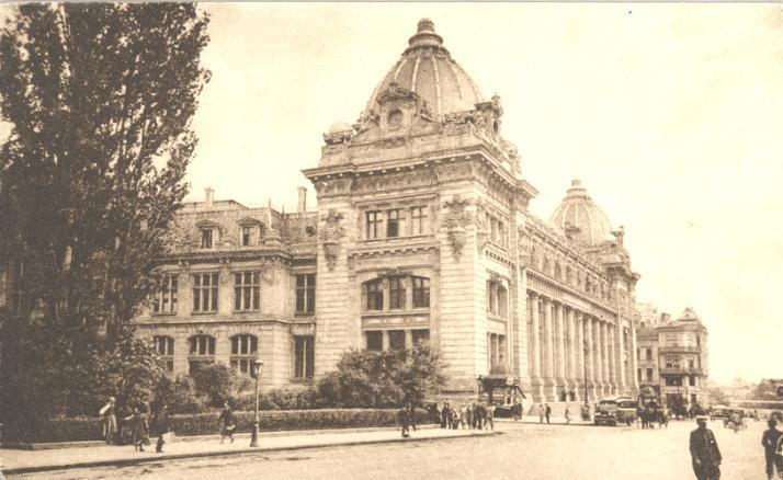 palatul postei 2 Muzeul Național de Istorie, fostul Palat al Poștelor (II)