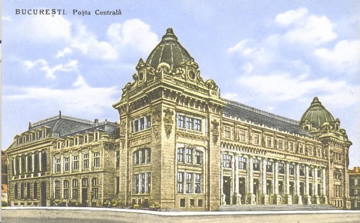 palatul postei 3 Muzeul Național de Istorie, fostul Palat al Poștelor (III)
