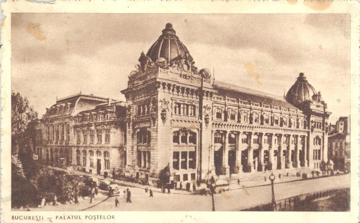 palatul postei 4 Muzeul Național de Istorie, fostul Palat al Poștelor (II)