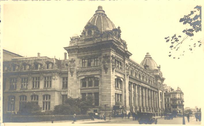 palatul postei 5 Muzeul Național de Istorie, fostul Palat al Poștelor (III)