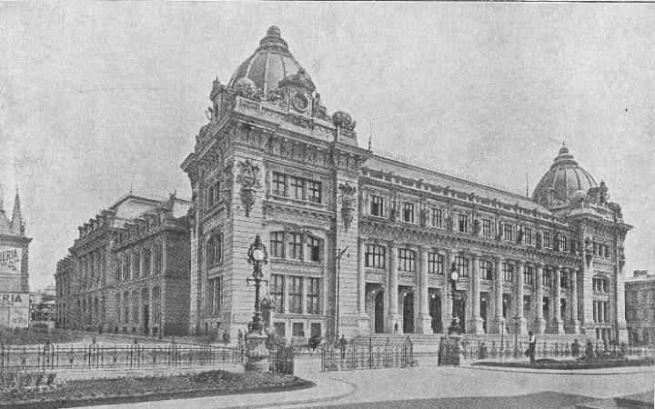 palatul postelor 1908 720x450 Muzeul Național de Istorie, fostul Palat al Poștelor (I)