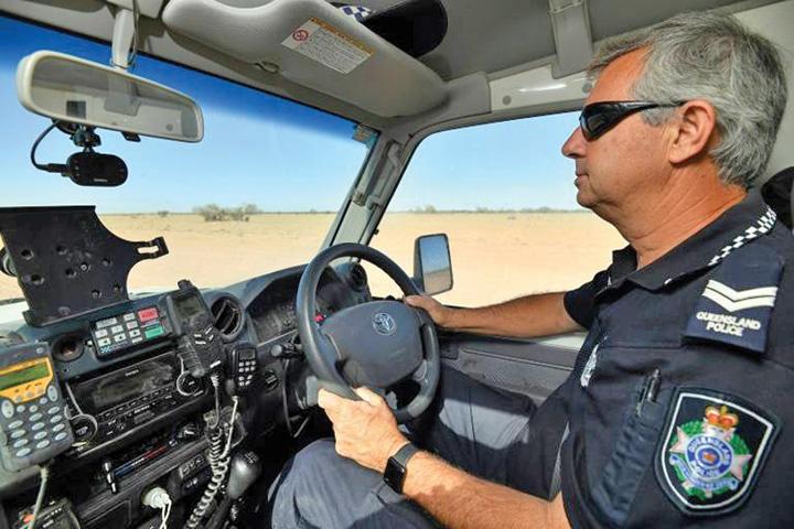 politist Cel mai singur politist din lume