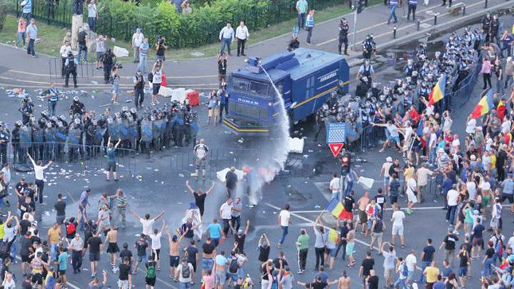 protest piata victoria  Dragnea sparge Casieria din Unirii!