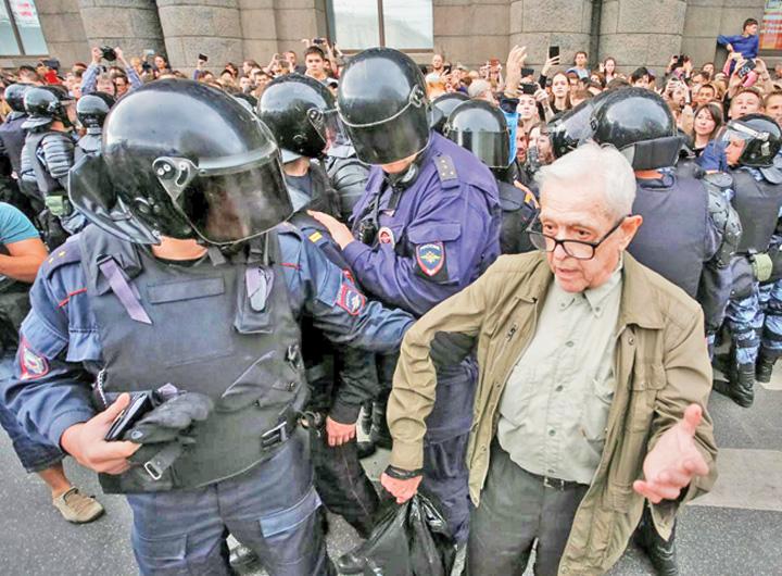 russia #Rezist se muta in Rusia. Putin deschide puscariile