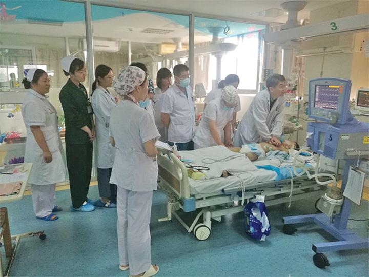 salvat 1 Copil salvat dupa cinci ore de resuscitare!