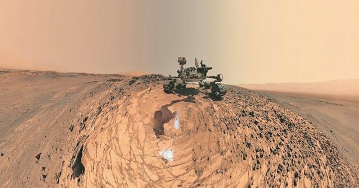 selfie 1 Selfie de pe Marte