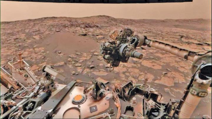 selfie 3 Selfie de pe Marte