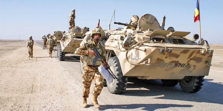 soldati Romania, peste 3 miliarde de lei pe razboaiele din Afganistan si Irak