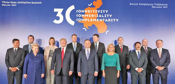 summit Initiativa celor Trei Mari, cu ochii pe gazul romanesc
