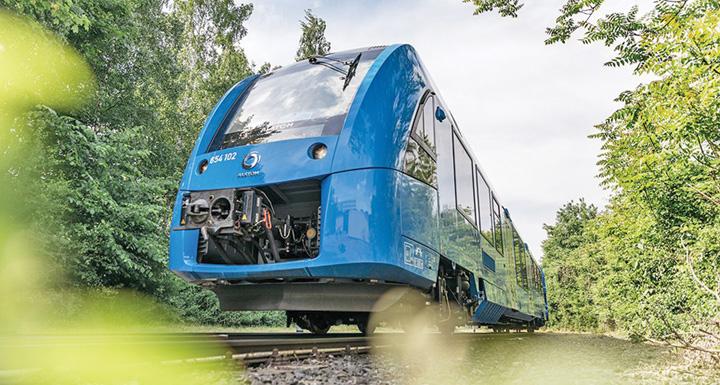 tren Primul tren cu hidrogen din lume