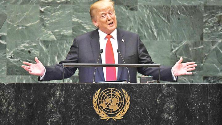 trump 2 Liderii ONU au ras de Trump
