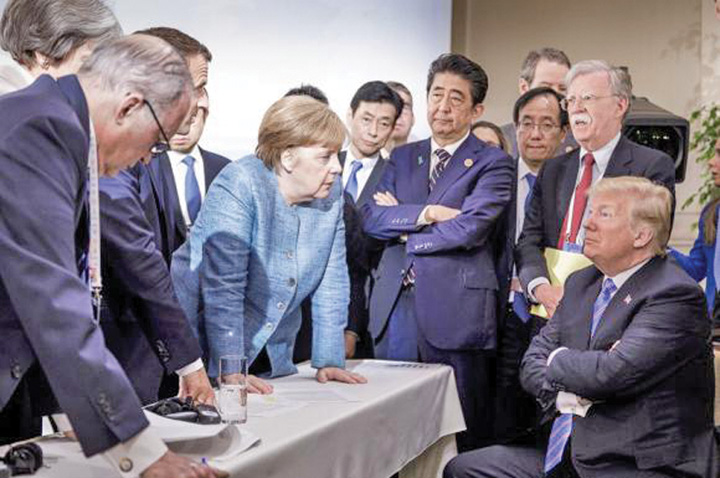 trump merkel Dusmanii lui Trump, amicii lui Iohannis!
