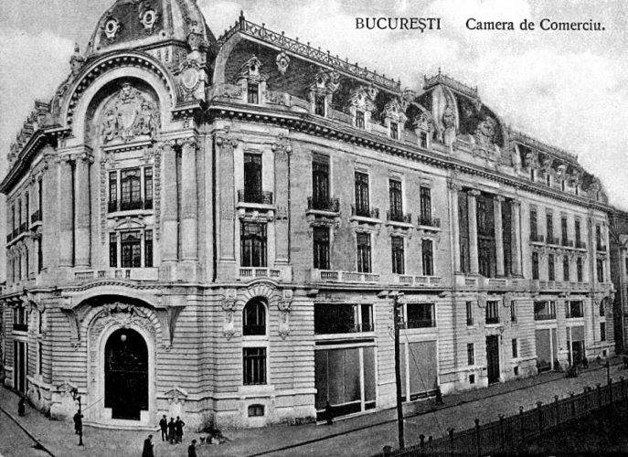 1. The Chamber of Commerce 1914 687x500 Palatul Bursei, o epocală clădire antebelică (II)