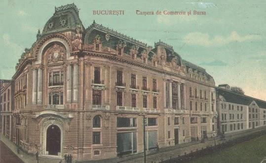 1. camera de comert si bursa 1912 Palatul Bursei, o epocală clădire antebelică (I)