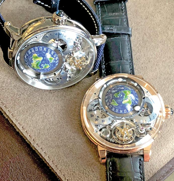 ceas mare Recital cu Soarele si Luna la incheietura