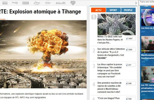 centrala 1 Explozie atomica in Belgia