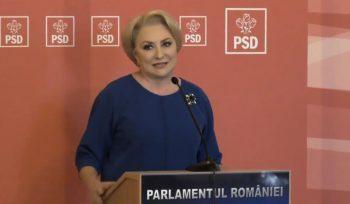 dancila 5 350x204 Dancila n a mai ajuns la Parlament, la Ora premierului, mergand la Cotroceni
