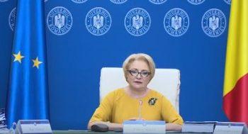 dancila 6 350x189 Romania a preluat presedintia Consiliului UE   mesajul premierului Dancila