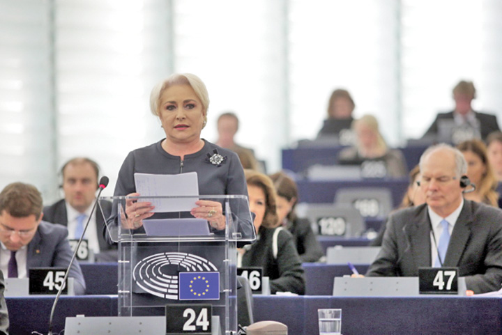 dancila parlament european Ce a facut Romania de e pusa la zid?
