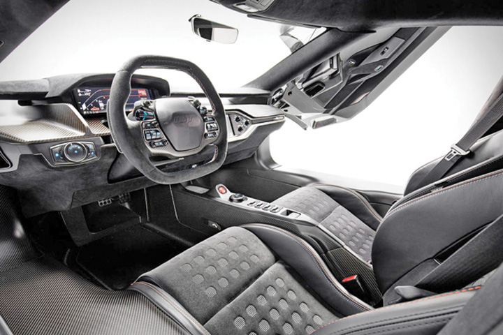 ford 2 Editie limitata a supercarului Ford GT