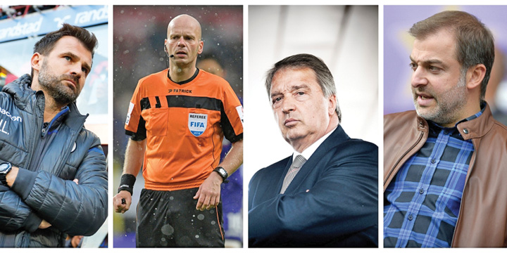 fotbal Seism in fotbalul belgian: arbitri, impresari si oficiali arestati