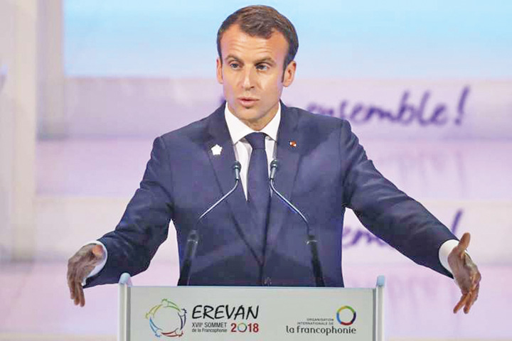 macron 1 Macron vrea reinventarea francofoniei