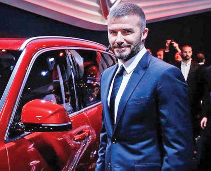 masina5 In premiera, masini vietnameze promovate de Beckham