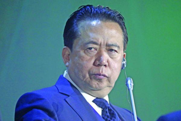 meng hongwei Seful Interpol, in plasa anticoruptiei chineze
