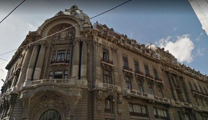 palatul bursei in prezent 720x417 Palatul Bursei, o epocală clădire antebelică (II)