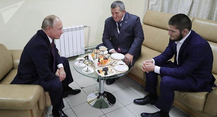 putin 1 Putin i a facut morala lui Khabib Nurmagomedov