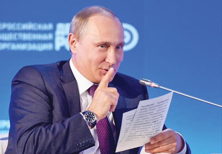 putin medalion Cybercalifatul lui Putin