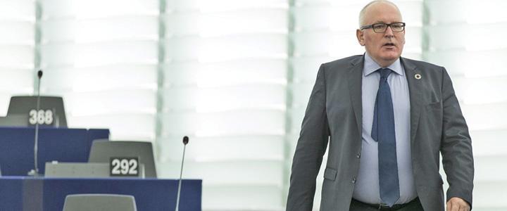 """timmermans 1 E oficial! """"Calaul"""" Romaniei vrea sa conduca Europa"""
