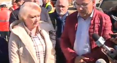 vizita Calamitati in discursul premierului, datorita intemperiilor vremii (VIDEO)