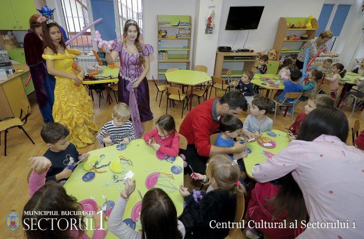 """Caravana copilariei 2 720x472 """"Caravana copilariei"""" a pornit in sectorul 1: ateliere de creatie atractive pentru copii"""