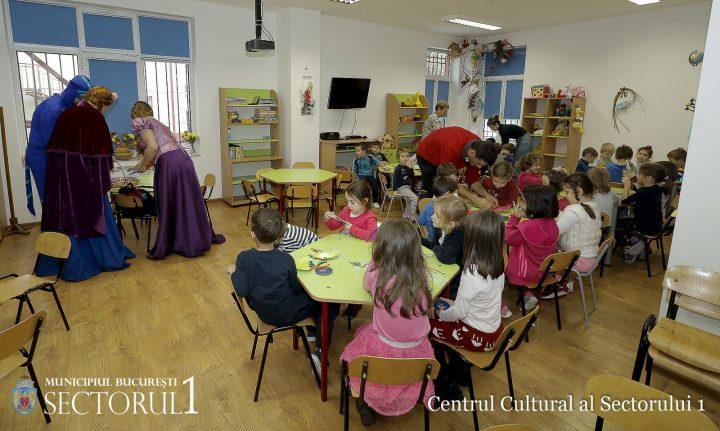 """Caravana copilariei 3 720x431 """"Caravana copilariei"""" a pornit in sectorul 1: ateliere de creatie atractive pentru copii"""