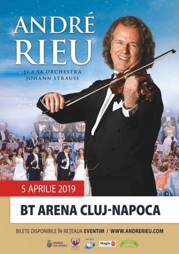 Poster Andre Rieu 353x500 Andre Rieu concerteaza pentru prima oara la Cluj