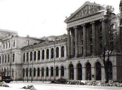 Universitatea bombardata Palatul Universității București, triumful ştiinţelor (IV)