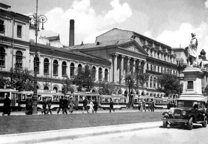 Universitatea old 720x500 Palatul Universității București, triumful ştiinţelor (III)