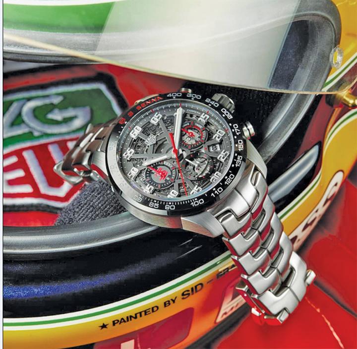 Untitled 1 9 TAG Heuer il omagiaza pe Ayrton Senna