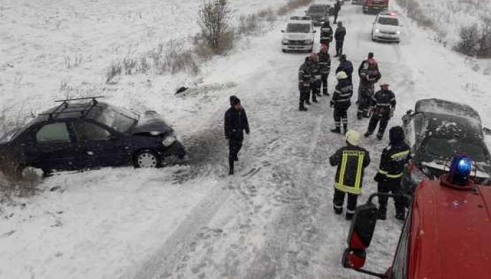 accident Accident cu sapte raniti in Teleorman. Un bebelus, printre victime